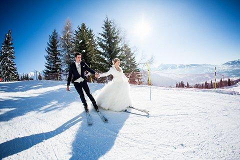 Mariage au ski